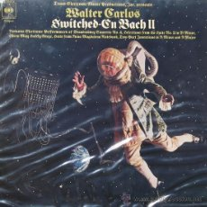 Discos de vinilo: SWITCHED-ON BACH IIWALTER CARLOSCBS1974. Lote 26330838
