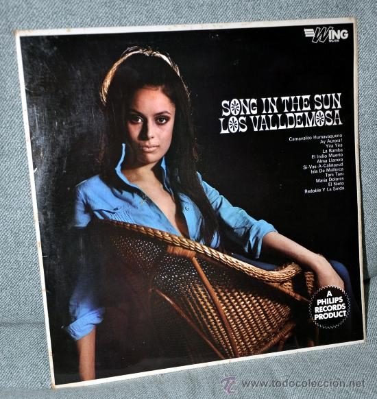 """LOS VALLDEMOSA - LP VINILO 12"""" - SONG IN THE SUN - EDITADO EN INGLATERRA / UK - 12 TRACKS - 1963. (Música - Discos - LP Vinilo - Grupos Españoles 50 y 60)"""