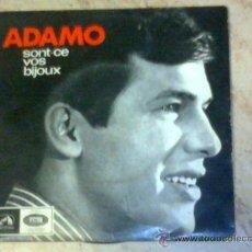 Discos de vinilo: EP- ADAMO -SONT-CE VOS BILOUX-+3 EDICION PORTUGESA. Lote 26351966