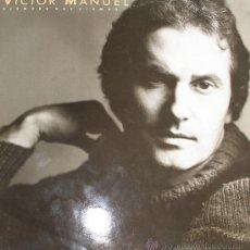 Discos de vinilo: VÍCTOR MANUEL / ANA BELÉN - CBS 1986 DOBLE LP. Lote 26394395