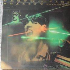 Discos de vinilo: EARTH AND FIRE, REALITY FILLS FANTASY, LP AÑO 1.980. Lote 26370571
