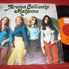 "Discos de vinilo: ARENA CALIENTE OH FABY/MATAME 7"" SINGLE 1972 CBS . Lote 26372332"