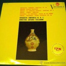 Discos de vinilo: ORQUESTA SINFONICA N.B.C. - DIRIGIDA POR ARTURO TOSCANINI - 1964 RCA VICTROLA. Lote 26376434
