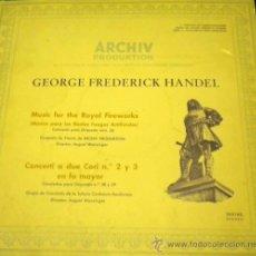 Discos de vinilo: ARCHIV PRODUKTION - GEORGE FREDERICK HANDEL - CONCERTI A DUE CORI Nº 2 Y 3 - 1969. Lote 26376713