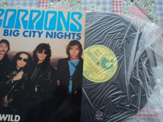 Discos de vinilo: Scorpions, Big city nights; maxi single de Emi, 1984 - Foto 3 - 26391694