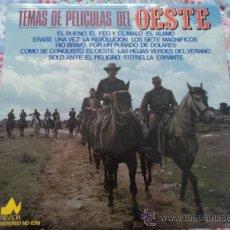 Discos de vinilo: TEMAS DE PELÍCULAS DEL OESTE; LP DE DIAL DISCOS, SERIE NEVADA; 1977. Lote 26391865