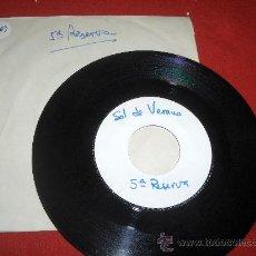 "Discos de vinilo: 5ª RESERVA SOL DE VERANO 7"" SINGLE 1972 PROMO. Lote 26525984"