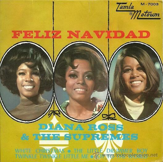 DIANA ROSS & THE SUPREMES EP SELLO TAMLA MOTOWM AÑO 1968 (Música - Discos de Vinilo - EPs - Funk, Soul y Black Music)