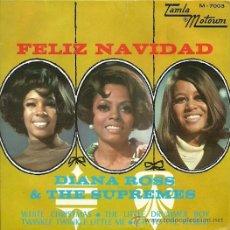 Discos de vinilo: DIANA ROSS & THE SUPREMES EP SELLO TAMLA MOTOWM AÑO 1968. Lote 26405783