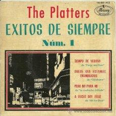 Discos de vinilo: THE PLATTERS EP SELLO MERCURY AÑO 1962. Lote 26405871
