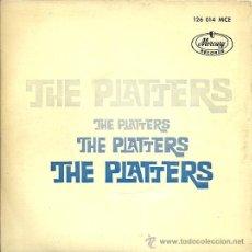 Discos de vinilo: THE PLATTERS EP SELLO MERCURY AÑO 1962. Lote 26405896