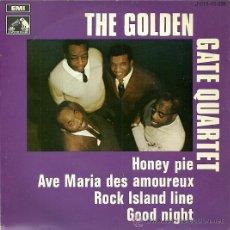 Discos de vinilo: THE GOLDEN GATE QUARTET EP SELLO LA VOZ DE SU AMO AÑO 1969. Lote 26406338