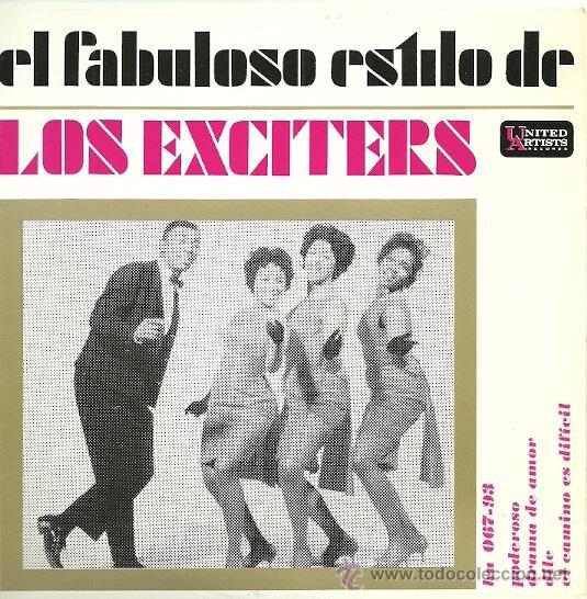 LOS EXCITERS EP SELLO UNITED ARTISTS AÑO 1963 (Música - Discos de Vinilo - EPs - Funk, Soul y Black Music)