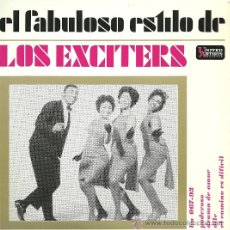 Discos de vinilo: LOS EXCITERS EP SELLO UNITED ARTISTS AÑO 1963. Lote 26406562