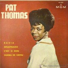 Discos de vinilo: PAT THOMAS EP SELLO MGM. AÑO 1963. Lote 26406646