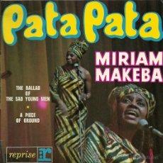 Discos de vinilo: MIRIAM MAKEBA EP SELLO REPRISE EDITADO EN FRANCIA. Lote 26406669