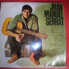Discos de vinilo: JOAN MANUEL SERRAT. Lote 26414697