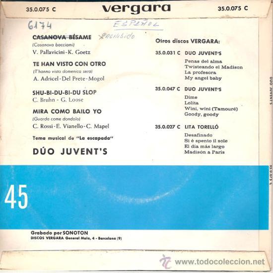 Discos de vinilo: CONTRAPORTADA - Foto 2 - 26414967