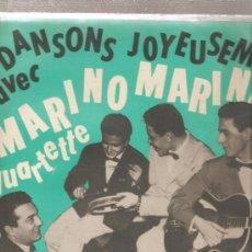 Discos de vinilo: LP 25 CM MARINO MARINI ET SON QUARTETTE : DANSONS JOYEUSEMENT. Lote 26416598