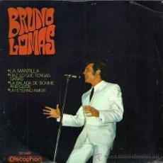 Discos de vinilo: BRUNO LOMAS EP SELLO DISCOPHON AÑO 1968. Lote 26420082