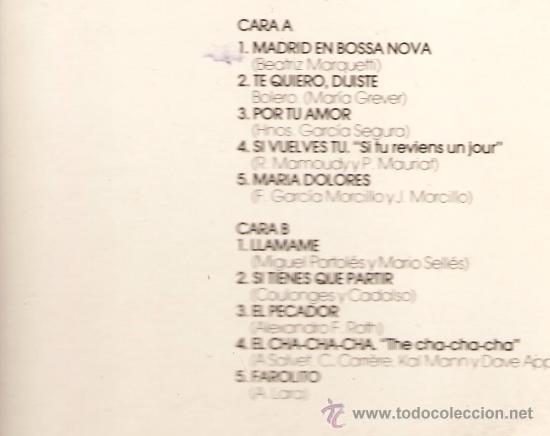 Discos de vinilo: DOBLE LP GLORIA LASSO - 20 GRANDES EXITOS - TEMAS DE ARY BARROSO, AGUSTIN LARA, MAESTRO PADILLA - Foto 3 - 26426707