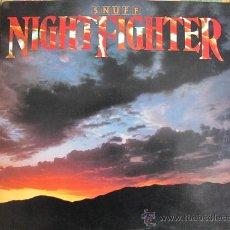 Discos de vinilo: LP - SNUFF - NIGHTFIGHTER - ORIGINAL AMERICANO, WARNER BROS RECORDS 1983. Lote 26434967