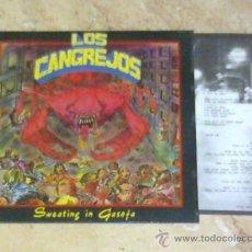 Discos de vinilo: EP - LOS CANGREJOS -SWEATING IN GASOFA-RABIA RECORDS-1990-. Lote 26436040