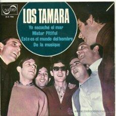 Disques de vinyle: LOS TAMARA EP SELLO ZAFIRO AÑO 1967 (PROMOCIONAL). Lote 26437920