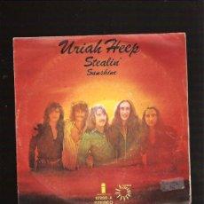 Discos de vinilo: URIAH HEEP STEALIN. Lote 26451208
