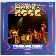Discos de vinilo: ROLLING STONES – HISTORIA DE LA MÚSICA ROCK #1 – LP SPAIN 1981 – DECCA/ORBIS 9-LPO-01. Lote 26462256