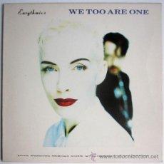 Disques de vinyle: EURYTHMICS – WE TOO ARE ONE – LP SPAIN 1989 – BMG PL 74251. Lote 26469480