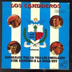 Discos de vinilo: LOS CHIMBEROS EP 1972. Lote 26478266