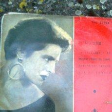Discos de vinilo: AMALIA RODRIGUES - RANCHERAS Y COPLAS. TÚ RECUERDO Y YO + 3 (TELEFUNKEN, 1958) - MUY RARO. Lote 279550993