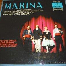 """Discos de vinilo: """" MARINA """" DE ARRIETA - CAMPODRON (POR EL CORO DE CAMARA DEL ORFEON DONOSTIARRA. Lote 26490222"""