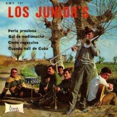 """Discos de vinilo: LOS JUNIOR'S - EP SINGLE VINILO 7"""" - PERLA PRECIOSA + 3 - LOS JUNIORS - VICTORIA / AMS 1968. Lote 26510219"""
