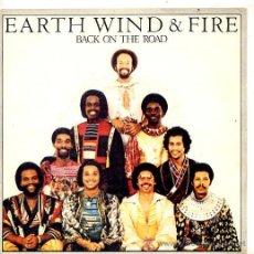 Discos de vinilo: EARTH WIND & FIRE / BACK ON THE ROAD / TAKE IT TO THE SKY (SINGLE 79). Lote 26519372