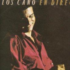 Discos de vinilo: 2 LP´S DE CARLOS CANO, UNO DE ELLOS DOBLE: EN DIRECTO + FORMA DE SER. Lote 30707828