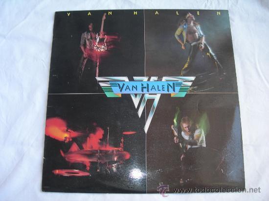 LP VAN HALEN // DISCO PROMOCIONAL EDICION ESPAÑOLA AÑO 1978 // CONTIENE ENCARTE (Música - Discos - LP Vinilo - Heavy - Metal)