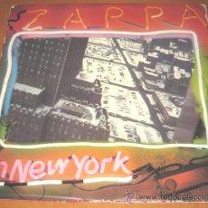 Discos de vinilo: FRANK ZAPPA - ZAPPA IN NEW YORK - 2 LP - WB 1978 SPAIN S 96004/S 90025 - CARPETA ABIERTA. Lote 26560888