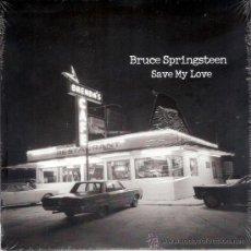 Discos de vinilo: BRUCE SPRINGSTEEN - SAVE MY LOVE / BECAUSE THE NIGHT (45 RPM) COLUMBIA 2010 - EDIC.ESPECIAL - NUEVO!. Lote 26569083