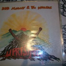 Discos de vinilo: BOB MARLEY & THE WAILERS - UPRISING - LP SAMMLUNGSAUFL.. Lote 26606507