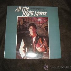 Discos de vinilo: LA CLAVE DEL EXITO-ALL THE RIGHT MOVES-LP BANDA SONORA ORIGINAL MUSICA D.CAMBELL ACTOR TOM CRUISE . Lote 26610576