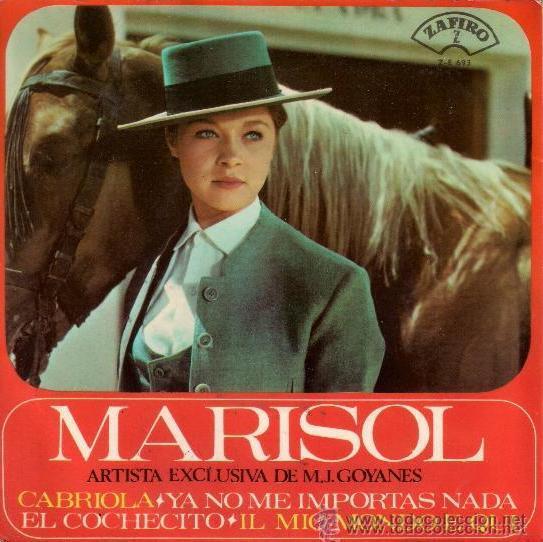 Discos de vinilo: MARISOL - EL COCHECITO / CABRIOLA... 1965 - Foto 2 - 26614625