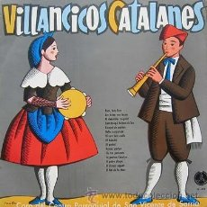 Discos de vinilo: VILLANCICOS CATALANES - CORO DEL CENTRO PARROQUIAL DE SAN VICENTE DE SARRIÁ - 1967. Lote 26621510