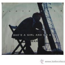 Discos de vinilo: LLOYD COLE ( SHE'S A GIRL AND I'M A MAN - WEIRD ON ME ) ENGLAND 1991-GERMANY SINGLE45 POLYDOR. Lote 26634397