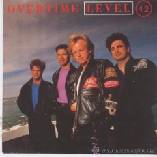 Discos de vinilo: LEVEL 42-OVERTIME/AT THIS GREAT DISTANCE 1991 RCA. Lote 26634497