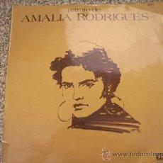 Discos de vinilo: RETRATO DE AMALIA RODRIGUES, EMI - Nº SERIE 6404 - ARGENTINA - 1973. Lote 26639054