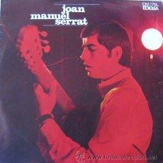 Discos de vinilo: JOAN MANUEL SERRAT. 1967 . ELS SETZE JUTGES. CON CANCIONERO. MUY RARO. ENVIO CERTIFICADO GRATIS¡¡¡. Lote 26642961