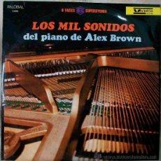 Discos de vinilo: DISCOS (ALEX BROWN) MUSICA VARIADA. Lote 26657763