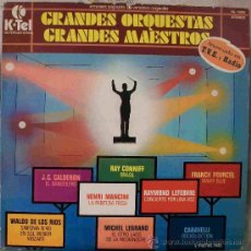 Discos de vinilo: DISCOS (GRANDES ORQUESTAS GRANDES MAESTROS). Lote 26658439